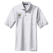 Polo with Embroidered Logo (Light)